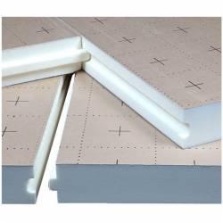 Dalle isolante RECTICEL pour plancher chauffant 20 a 120 mm