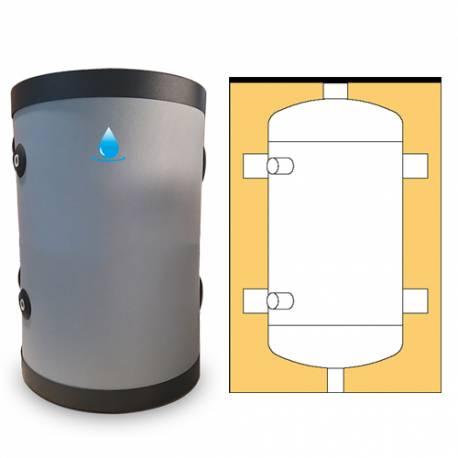 Bouteille de mélange 25 à 100 litres pour pompe à chaleur