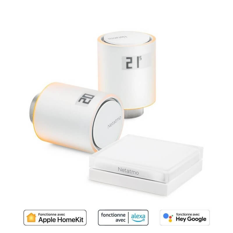 Thermostat d'ambiance numérique Radio contact sec - RT310RF