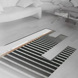 Ecofilm 85 W/m²  largeur 1 m, longueur 6 m - Sud Rayonnement