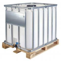 Fluide antigel dilué a 40%. container 1000  l pour plancher chauffant