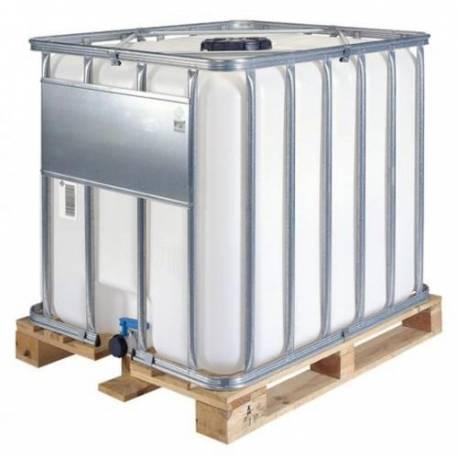 Fluide antigel dilué a 40%. container 1000  l pour plancher chauffant, géothermie