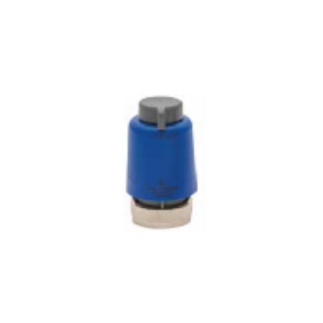 Tête électrothermique pour collecteur de plancher chauffant