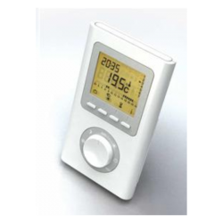 Thermostat d'ambiance radio reversible