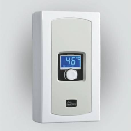 Chauffe-eau instantané à puissance réglable 5,5 à 9 kW KOSPEL LCD 230V