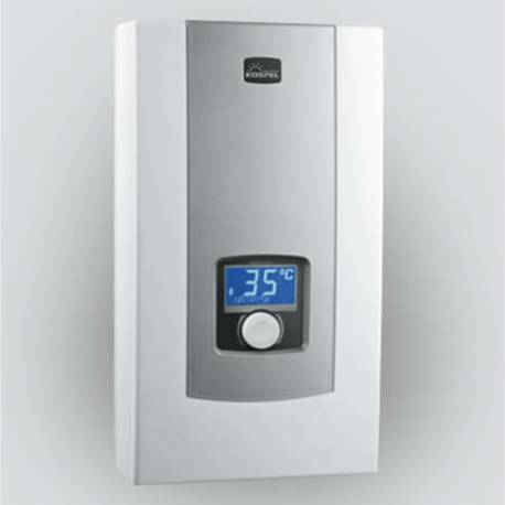 Chauffe-eau instantané à puissance réglable 9 à 27 kW KOSPEL LCD 400V