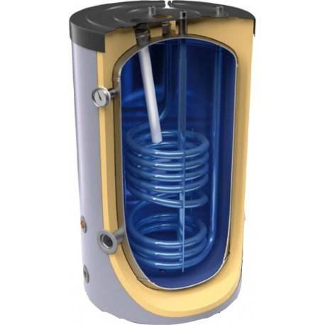 Ballon mixte chauffage et ECS 200 litres 1 échangeur en serpentin