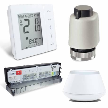 Kit régulation PCBT sans fil (radio) Salus