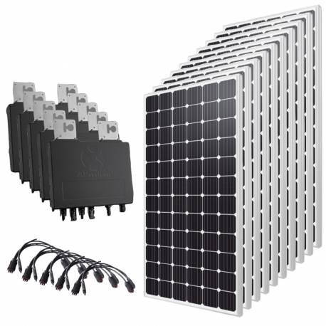 Kit solaire autoconsommation 3000 Wc