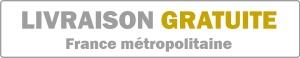 Livraison gratuite France métropolitaine