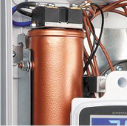Résistance en cuivre du chauffe eau électrique instantané 5,5 à 9 kW