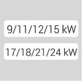 4 Puissances dans un seul chauffe-eau électrique instantané KDE5 Kospel